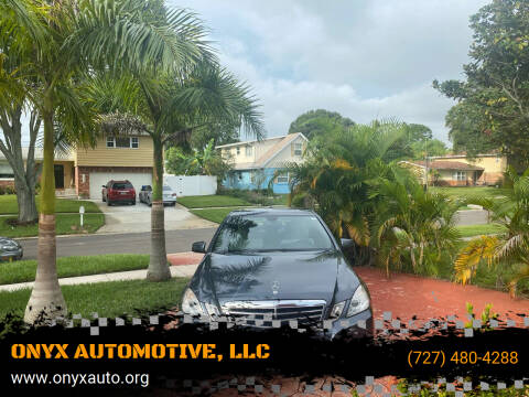 2011 Mercedes-Benz E-Class for sale at ONYX AUTOMOTIVE, LLC in Largo FL