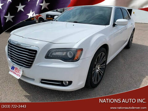 2013 Chrysler 300 for sale at Nations Auto Inc. in Denver CO