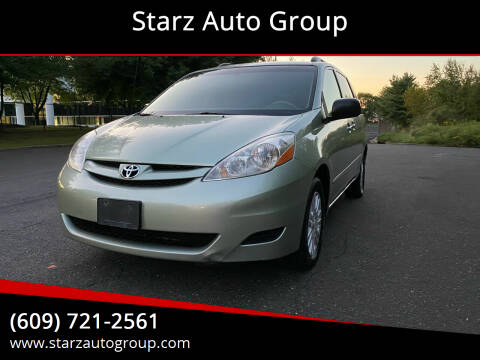 2007 Toyota Sienna for sale at Starz Auto Group in Delran NJ