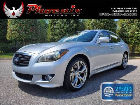 2011 Infiniti M37 for sale at Phoenix Motors Inc in Raleigh NC