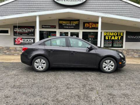 2015 Chevrolet Cruze for sale at Stans Auto Sales in Wayland MI