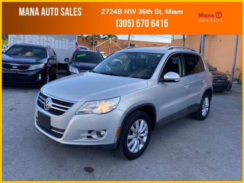 2011 Volkswagen Tiguan for sale at MANA AUTO SALES in Miami FL