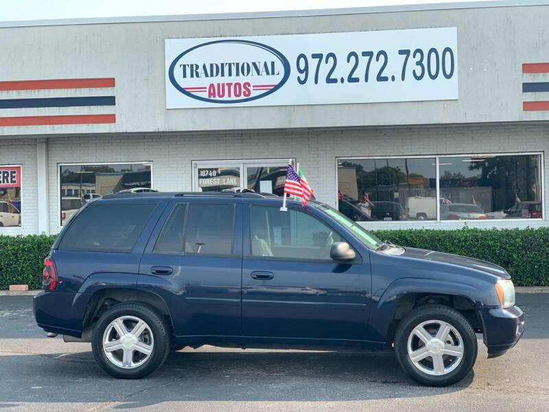 2008 Chevrolet TrailBlazer for sale at Traditional Autos in Dallas TX