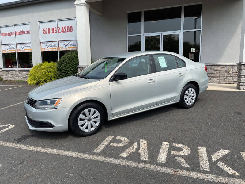 2011 Volkswagen Jetta for sale at Keystone Used Auto Sales in Brodheadsville PA