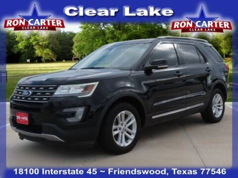 2016 Ford Explorer for sale at Ron Carter  Clear Lake Used Cars in Houston TX