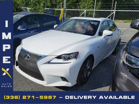 2016 Lexus IS 200t for sale at Impex Auto Sales in Greensboro NC