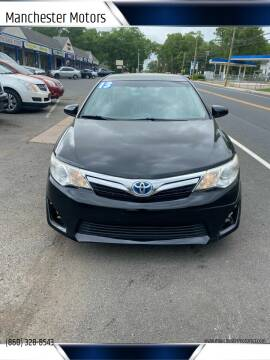 2013 Toyota Camry Hybrid for sale at Manchester Motors in Manchester CT