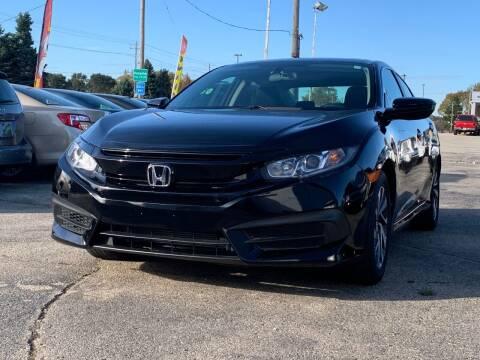 2016 Honda Civic for sale at HIGHLINE AUTO LLC in Kenosha WI