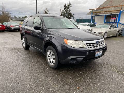 2011 Subaru Forester for sale at LKL Motors in Puyallup WA