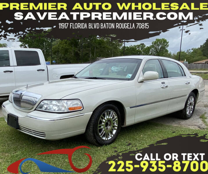 2007 Lincoln Town Car for sale at Premier Auto Wholesale in Baton Rouge LA