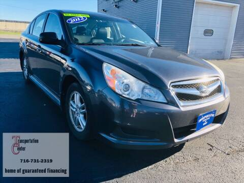 2012 Subaru Legacy for sale at Transportation Center Of Western New York in Niagara Falls NY