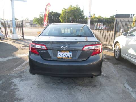 2013 Toyota Camry for sale at Best Deal Auto Sales in Stockton CA