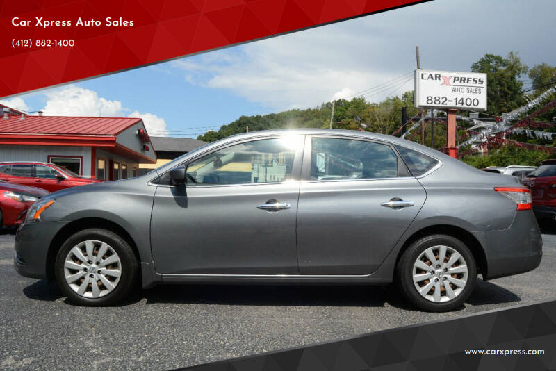 2015 Nissan Sentra for sale at Car Xpress Auto Sales in Pittsburgh PA