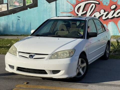 2005 Honda Civic for sale at Palermo Motors in Hollywood FL