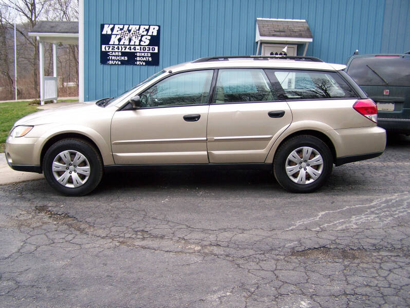 2008 Subaru Outback for sale at Keiter Kars in Trafford PA