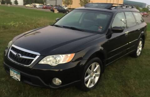 2008 Subaru Outback for sale at MATTHEWS AUTO SALES in Elk River MN