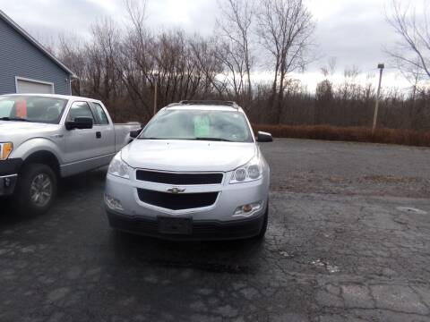 2012 Chevrolet Traverse for sale at Pool Auto Sales Inc in Spencerport NY