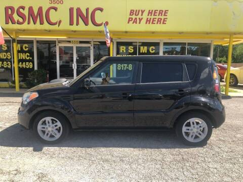2011 Kia Soul for sale at Ron Self Motor Company in Fort Worth TX