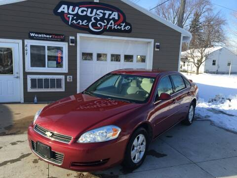 2007 Chevrolet Impala for sale at Augusta Tire & Auto in Augusta WI