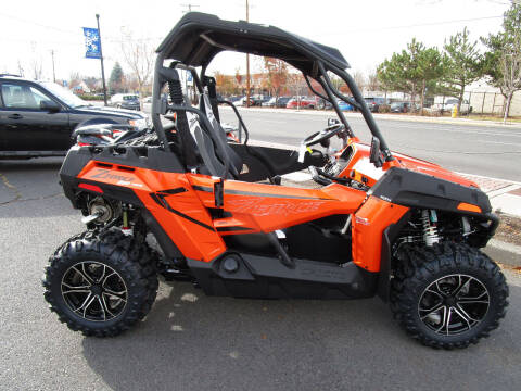 2021 CF Moto Z800 Trail  lava orange for sale at Miller's Economy Auto in Redmond OR