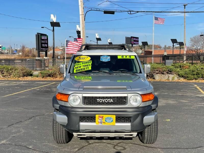 2007 Toyota FJ Cruiser 4dr SUV 4WD (4L V6 5A) - Dorchester MA