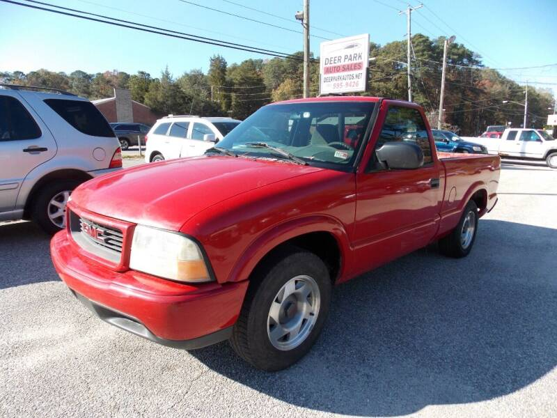 2000 GMC Sonoma for sale at Deer Park Auto Sales Corp in Newport News VA