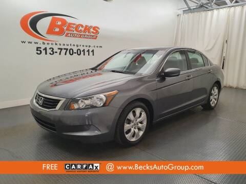 2010 Honda Accord for sale at Becks Auto Group in Mason OH
