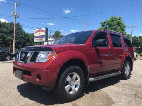 2007 Nissan Pathfinder for sale at Beachside Motors, Inc. in Ludlow MA