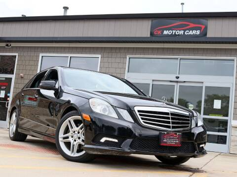 2011 Mercedes-Benz E-Class for sale at CK MOTOR CARS in Elgin IL