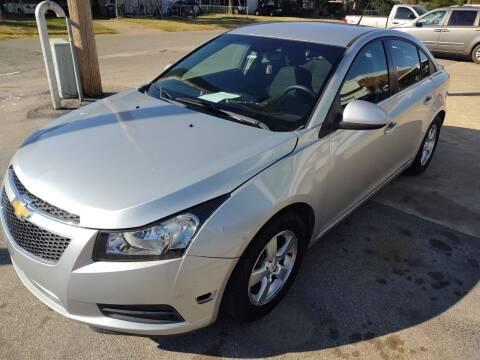 2012 Chevrolet Cruze for sale at 4 B CAR CORNER in Anadarko OK