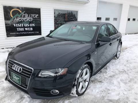 2012 Audi A4 for sale at HILLTOP MOTORS INC in Caribou ME