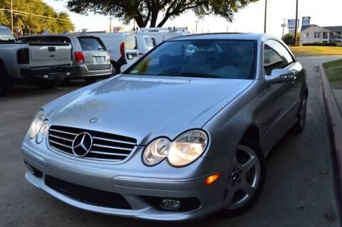 2005 Mercedes-Benz CLK for sale at E-Auto Groups in Dallas TX