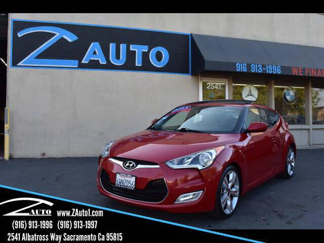 2013 Hyundai Veloster for sale at Z Auto in Sacramento CA