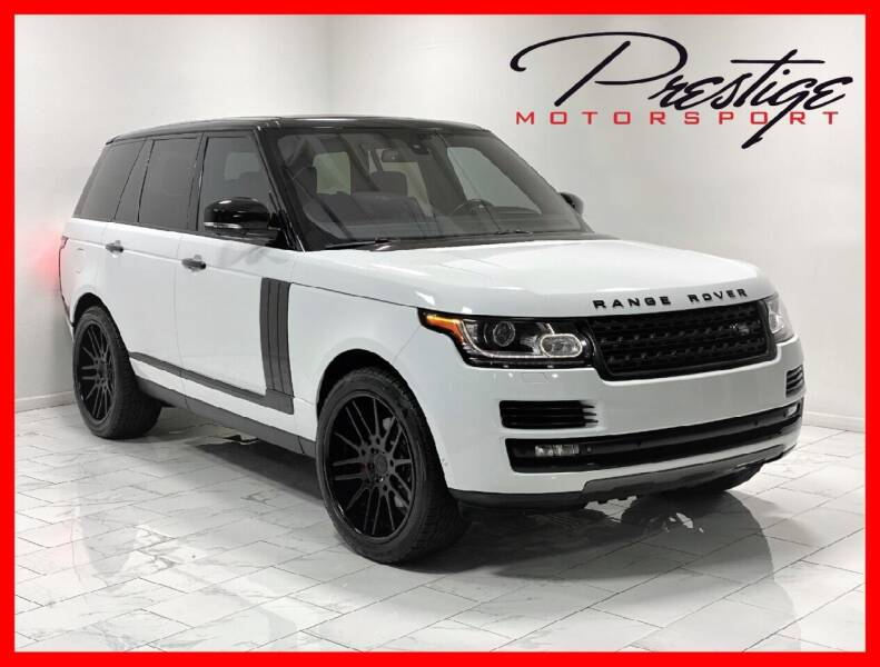 2014 Land Rover Range Rover for sale at Prestige Motorsport in Rancho Cordova CA