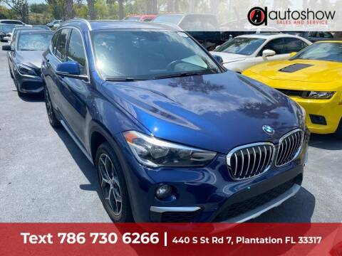 2018 BMW X1 for sale at AUTOSHOW SALES & SERVICE in Plantation FL