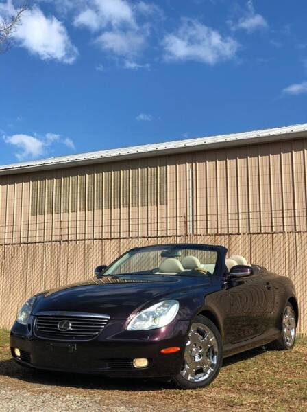 2004 Lexus SC 430 for sale at Speed Auto Inc in Charlotte NC