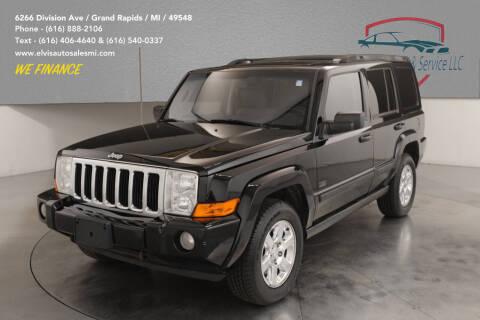 2007 Jeep Commander for sale at Elvis Auto Sales LLC in Grand Rapids MI