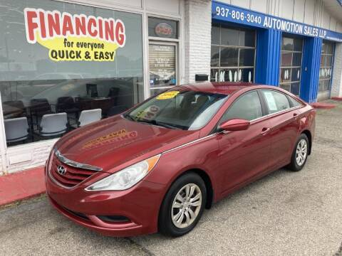 2013 Hyundai Sonata for sale at AutoMotion Sales in Franklin OH
