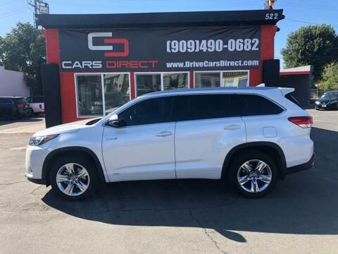 2017 Toyota Highlander Hybrid for sale at Cars Direct in Ontario CA