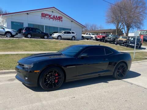 2014 Chevrolet Camaro for sale at Efkamp Auto Sales LLC in Des Moines IA