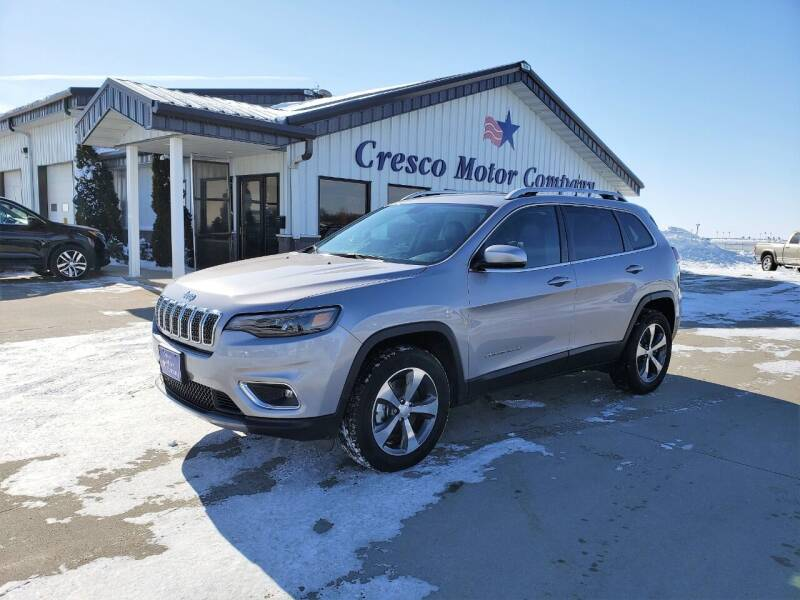 2020 Jeep Cherokee for sale at Cresco Motor Company in Cresco IA