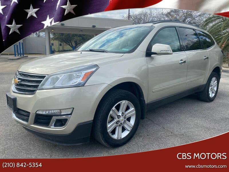 2014 Chevrolet Traverse for sale at CBS MOTORS in San Antonio TX