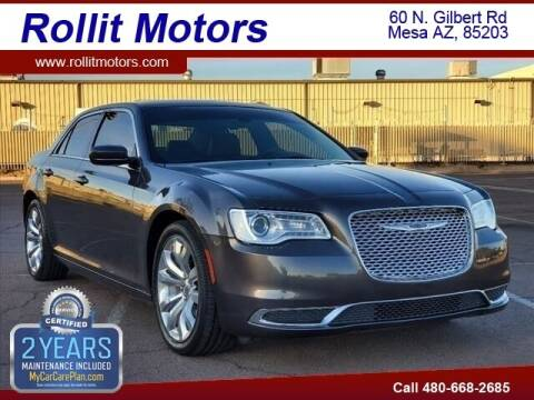 2018 Chrysler 300 for sale at Rollit Motors in Mesa AZ