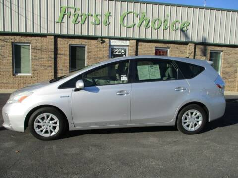 2013 Toyota Prius v for sale at First Choice Auto in Greenville SC