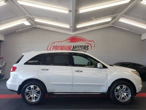2008 Acura MDX for sale at Premium Motors in Villa Park IL