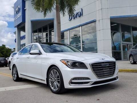 2018 Genesis G80 for sale at DORAL HYUNDAI in Doral FL