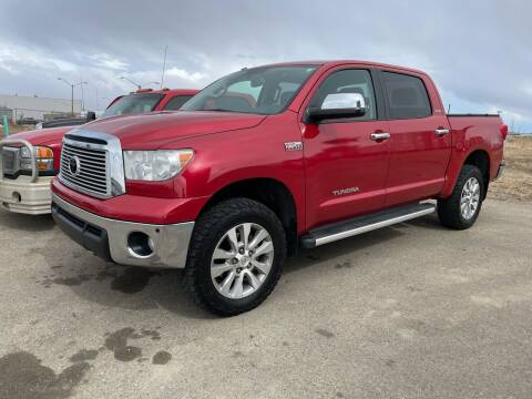 2012 Toyota Tundra for sale at Truck Buyers in Magrath AB