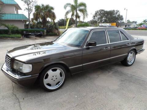 1990 Mercedes-Benz 560-Class for sale at Bavarian Auto Center in Rockledge FL