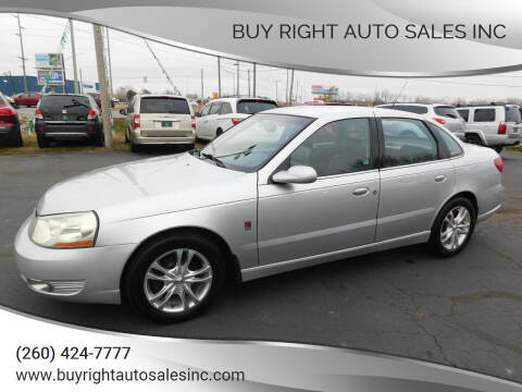 2004 Saturn L300 for sale at Buy Right Auto Sales Inc in Fort Wayne IN