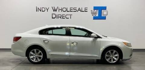 2011 Buick LaCrosse for sale at Indy Wholesale Direct in Carmel IN